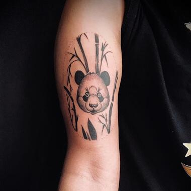 Bee panda beer