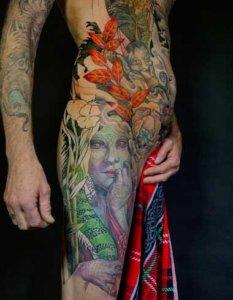 Mad_Science_Tattoo_Den_Haag_Leslie_Reesen_bodysuit_woman_vrouw_hagedis