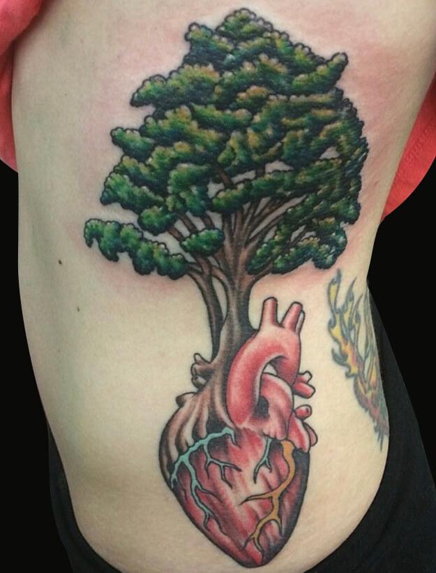 boom en hart